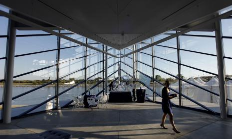 Okc boathouse wedding