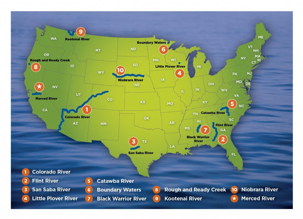 Most Endangered Rivers Called Out By American Rivers