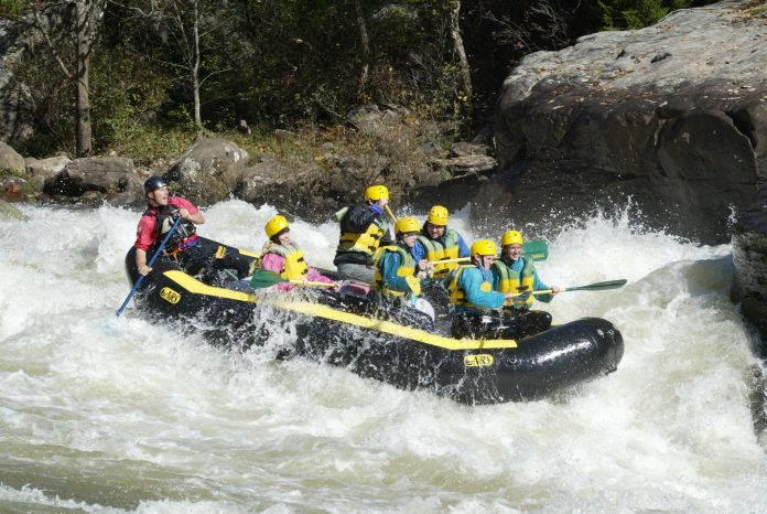 Wildwater Expeditions whitewater rafting Gauley river WV