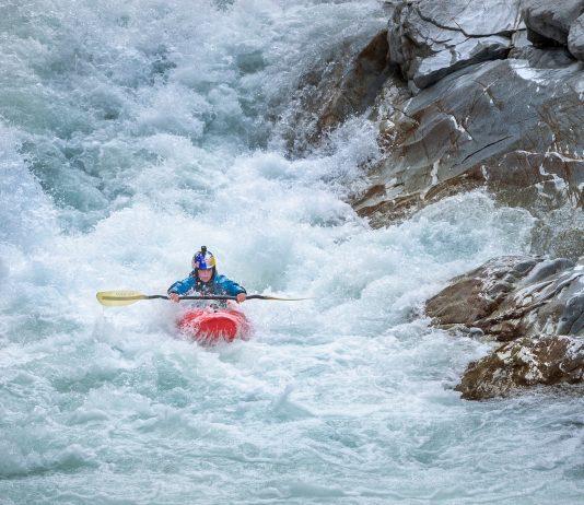 Nouria Newman solo kayak trip