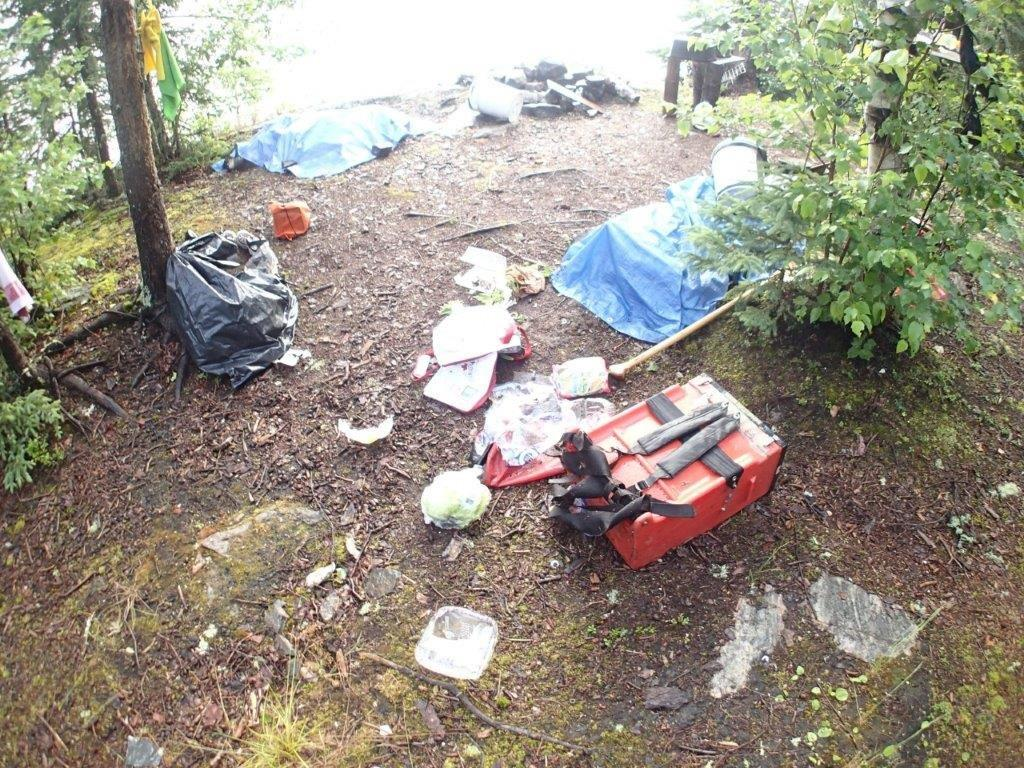 Bear camp.