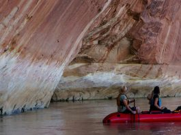 Packrafting Utah