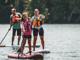 Level 6 family paddling SUP's