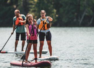 Level 6 family paddling SUP's