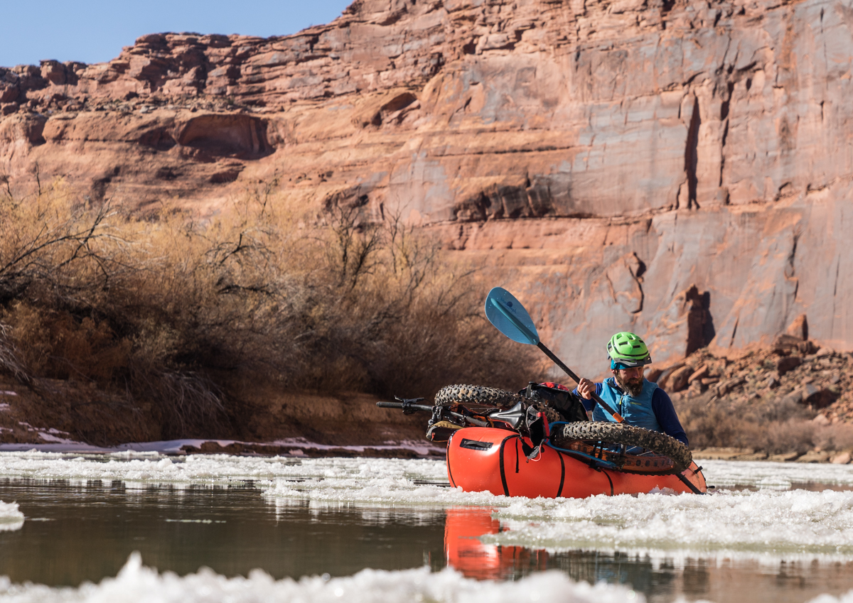paddling Labrynth-Stillwater Utah