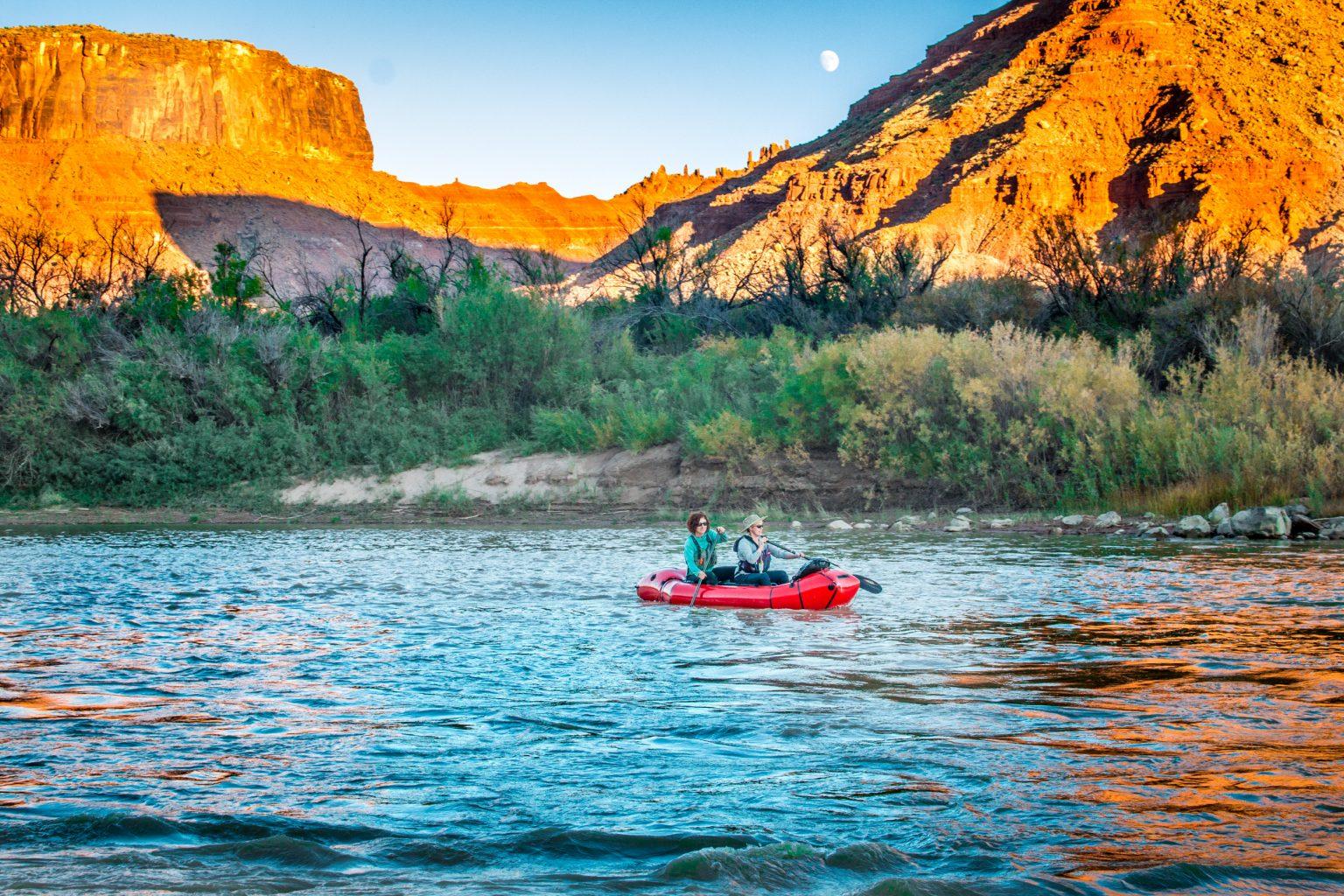 paddling Moab
