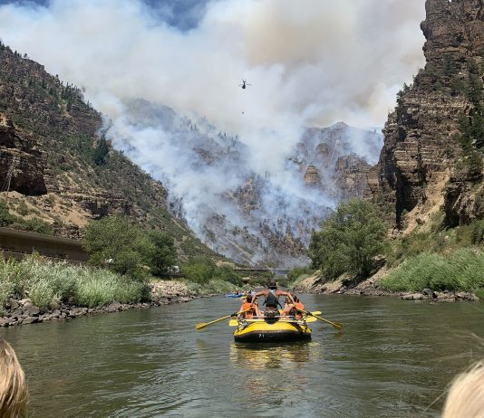 rafting fire