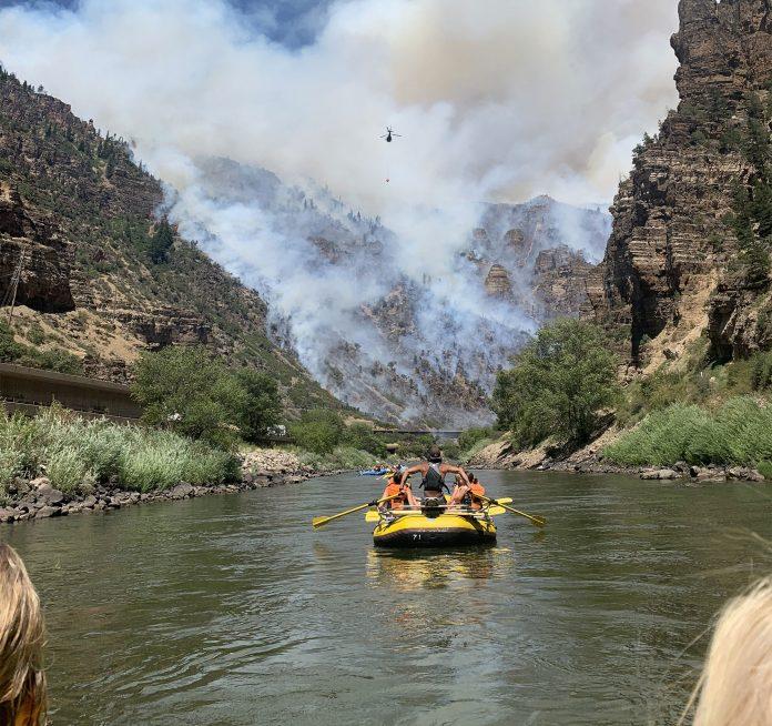 rafting fire