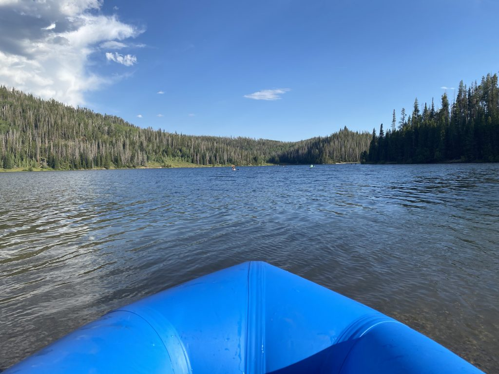 Kokopelli Rogue packraft Pearl Lake, CO