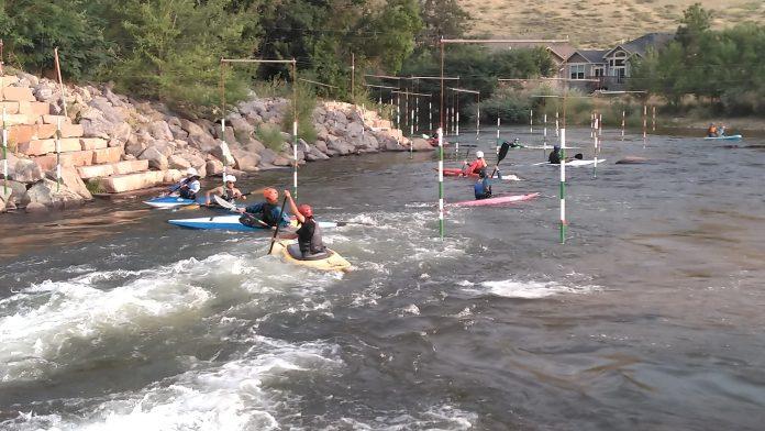 Kids Kayak Slalom Lyons