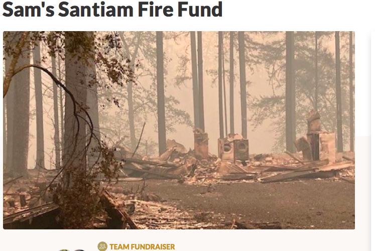 Oregon fire, Drevo