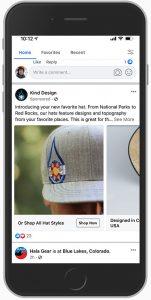 Kind Design Facebook Ad