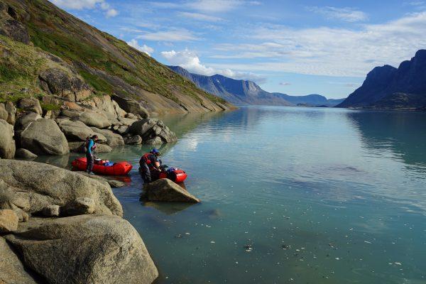 Baffin Island, Alpacka pack raft