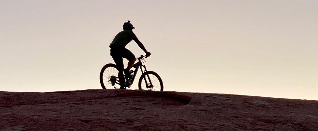 moab ut slickrock mountain bike ride