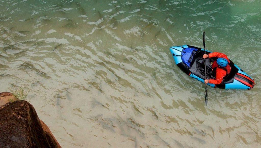 Alpacka custom pack raft Curiak