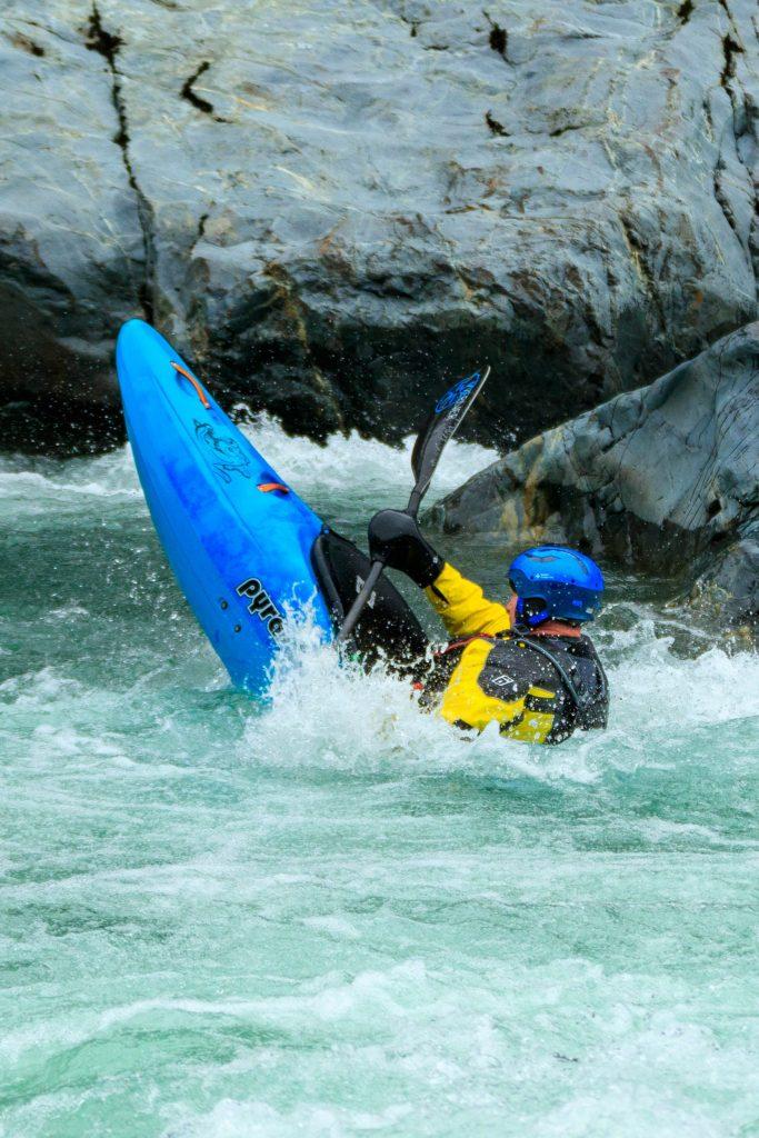 level six emperor dry suit pyranha whitewater kayak werner paddle