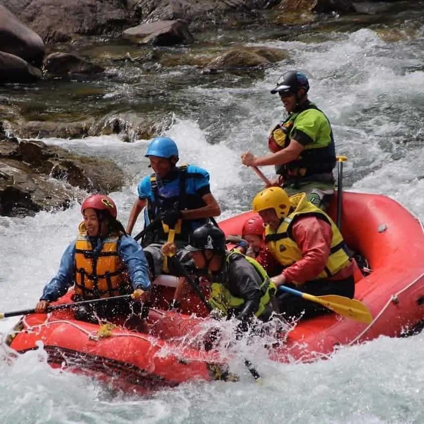 IRF Para Rafting tetraplegia raft adaptive seat in use