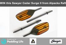Win this Sawyer Cedar Surge II paddle from Alpacka Raft
