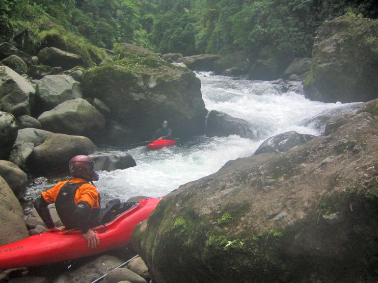 Ben Stookesberry kayaking Rio Patria