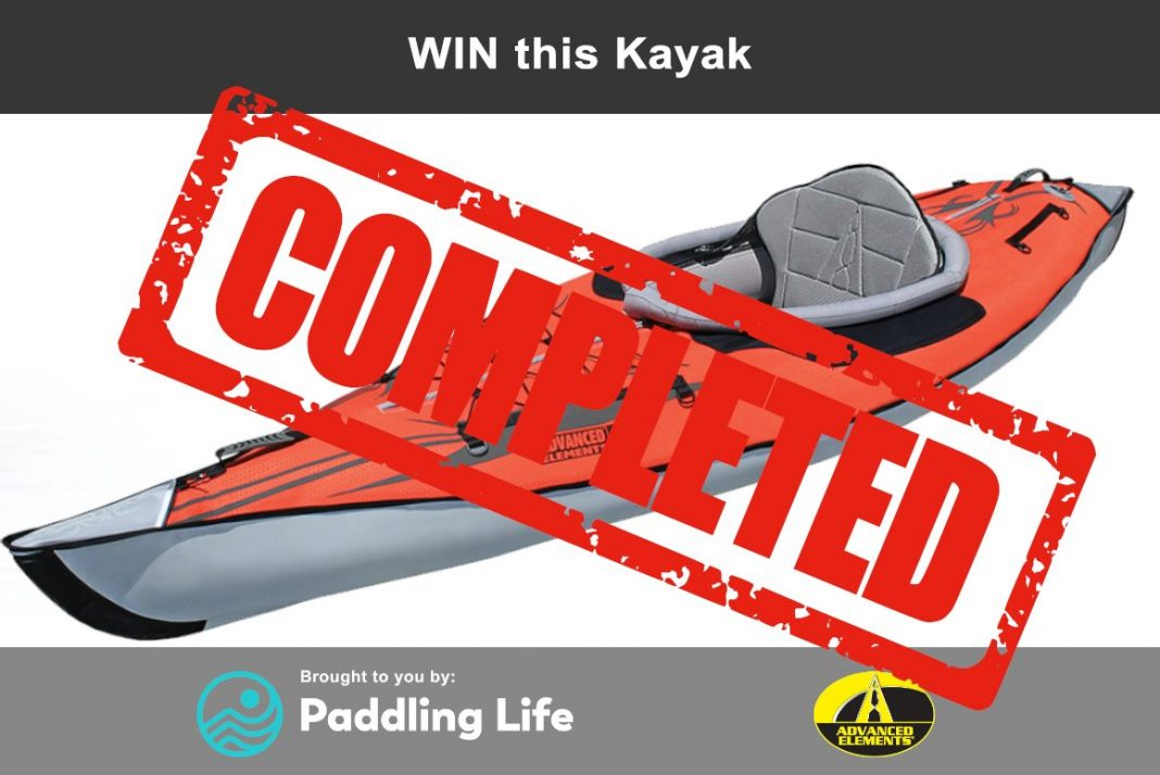 Advanced Elements Inflatable Kayak sweepstakes ended
